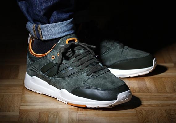 adidas Originals Tech Super 2.0 - Olive - Orange - SneakerNews.com f902ac7e7
