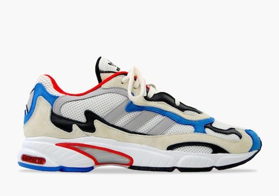 Adidas Originals Temper Run Chalk Chrome Running White Blue