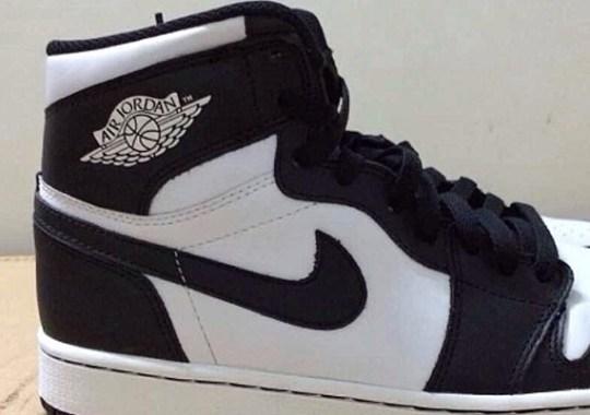"""Air Jordan 1 Retro High OG """"Black/White"""" Returning Soon"""