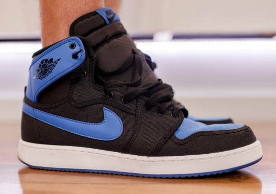"Air Jordan 1 Retro KO High OG ""Sport Blue"" – On-Feet"