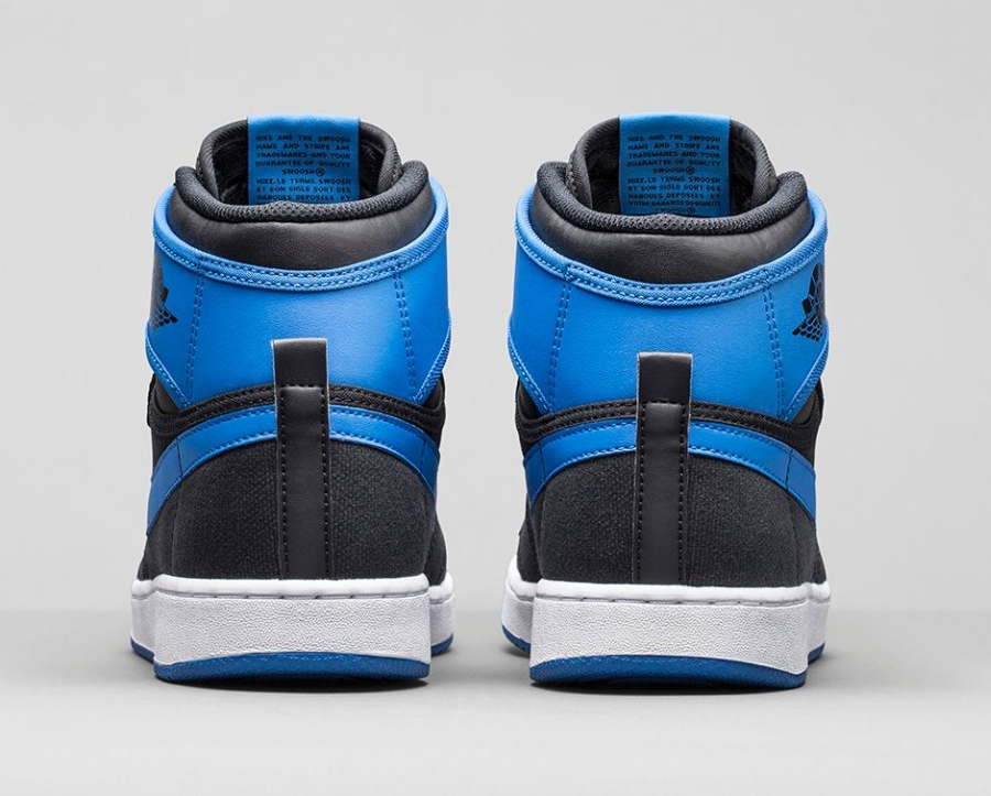 Air Jordan 1 Retro High Og Sport Blå QPR4MS0KyS