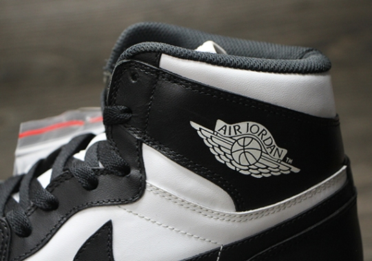 "Another Look at the Air Jordan 1 Retro High OG ""Black/White"""