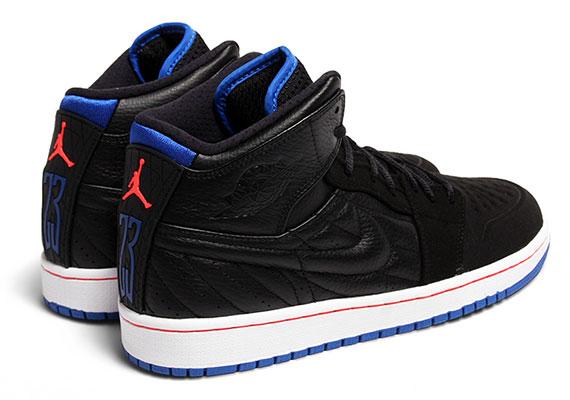 522975f68ac3 Air Jordan 1 Retro  99 - Black - Sport Blue - Infrared