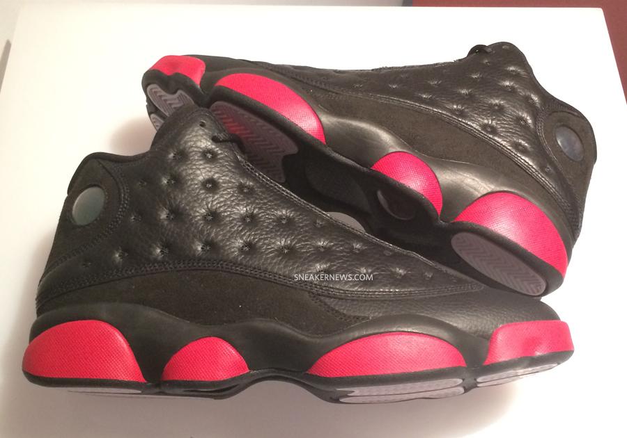 Air Jordan 13 Dates De Sortie Noir Et Rouge cw707