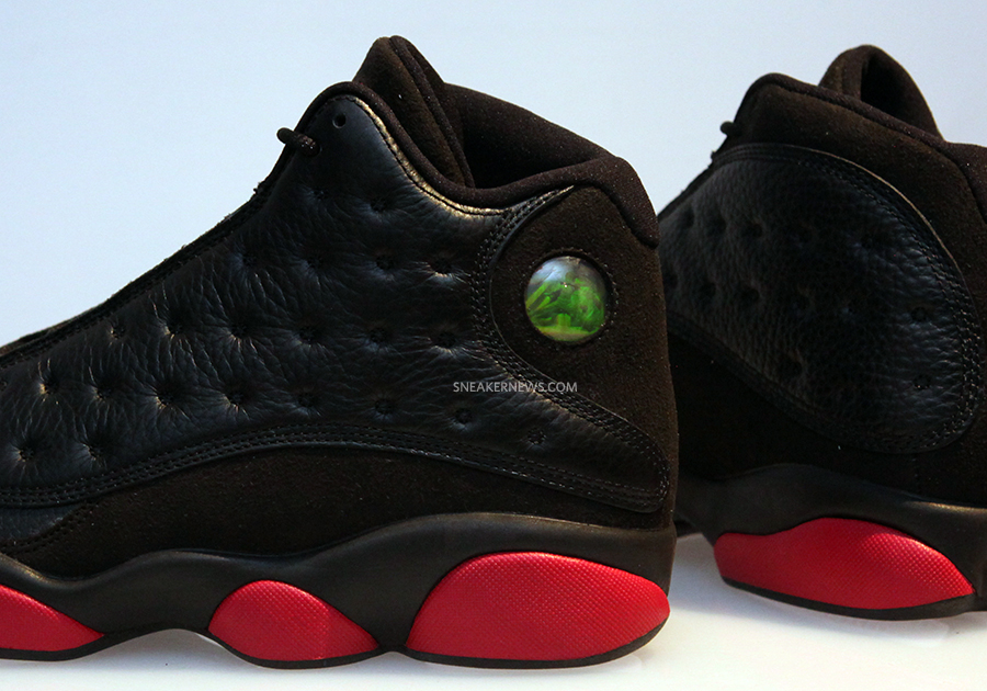 """127440127c55 ... Air Jordan 13 """"Black Red"""" and stick with Sneaker News for this December"""