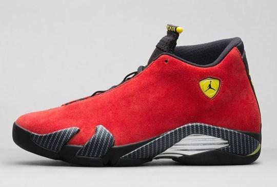 """Air Jordan 14 One Piece """"Ferrari"""" – Nikestore Release Info"""