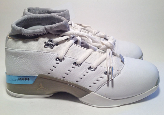 Air Jordan 17 Low - Mike Bibby PE on eBay - SneakerNews.com 61f1851f22