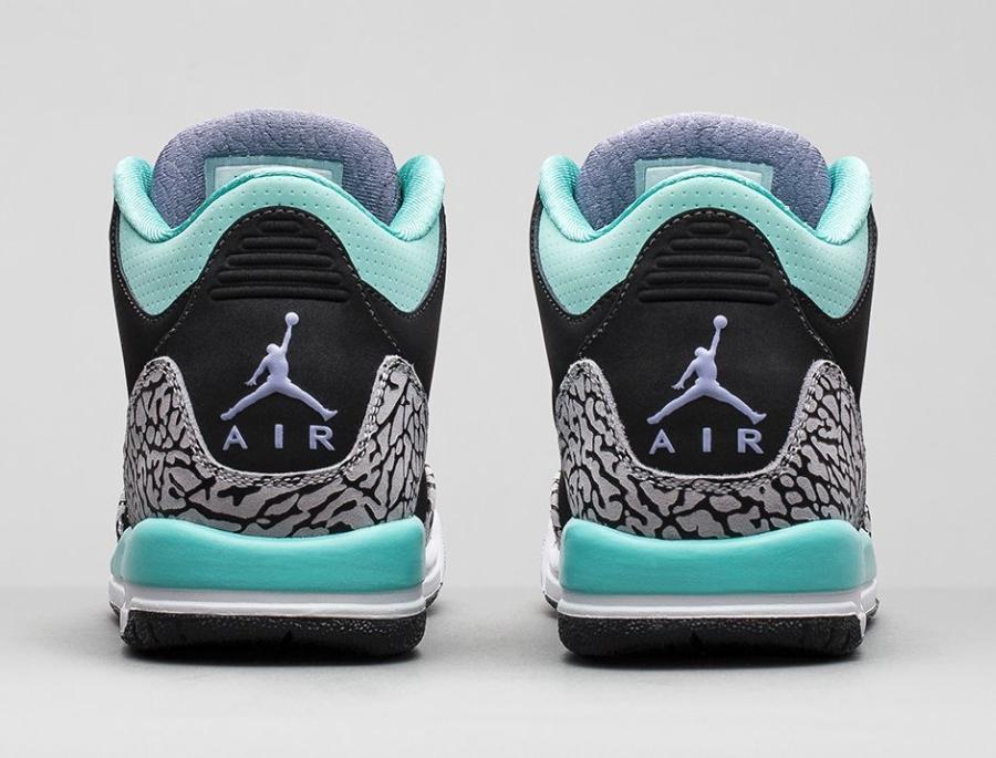 Air Jordan 3 Gs Quot Bleached Turquoise Quot Nikestore Release