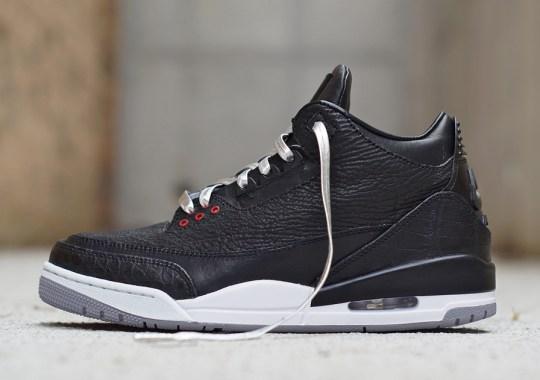 "Air Jordan 3 ""Shark, Alligator, & Kangaroo"" by JBF Customs"
