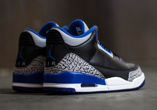 "Air Jordan 3 ""Sport Blue"" – Release Reminder"