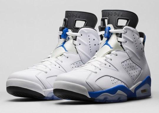 "Air Jordan 6 ""Sport Blue"" – Nikestore Release Info"