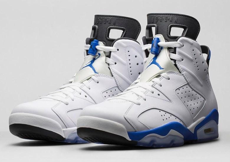 "low cost 452c9 e70e7 Air Jordan 6 ""Sport Blue"" – Nikestore Release Info"