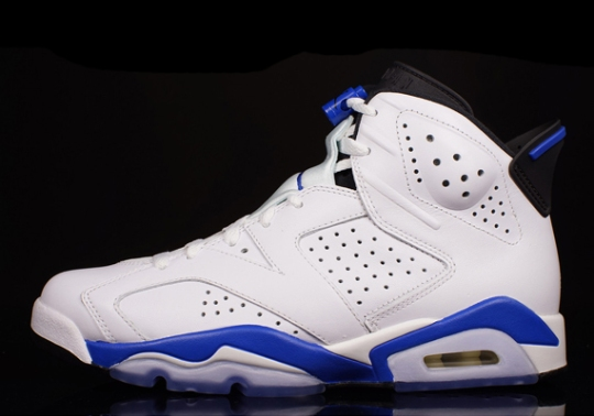 "Air Jordan 6 ""Sport Blue"" – Release Reminder"