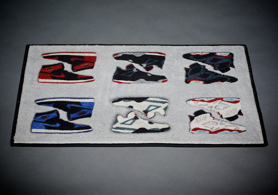 Decorate Your Home With This Air Jordan Retro Rug