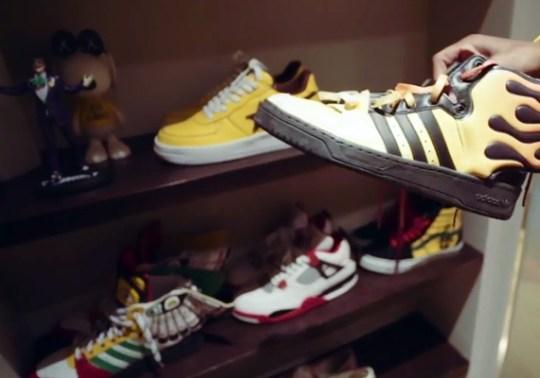 What's in A$AP Rocky's Sneaker Rotation? Vans, Jeremy Scotts, Air Jordan 4s