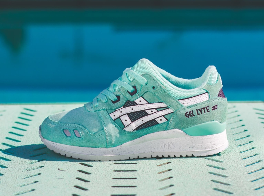 cheap for discount 83fba d13b7 Asics Gel Lyte III - Blue Tint - White - SneakerNews.com