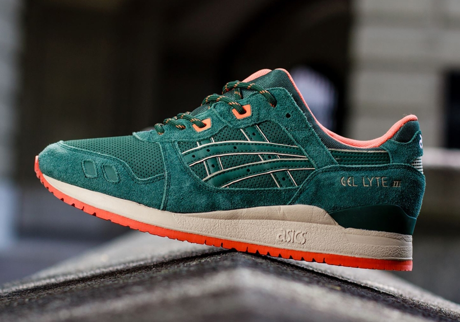 asics gel lyte 3 beige blue orange
