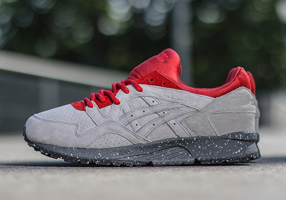 competitive price 9ea77 898f9 asics gel lyte v all red