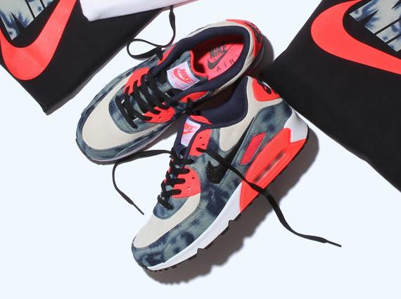 atmos x Nike Air Max 90 QS