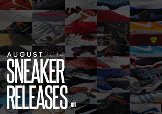 August 2014 Sneaker Releases