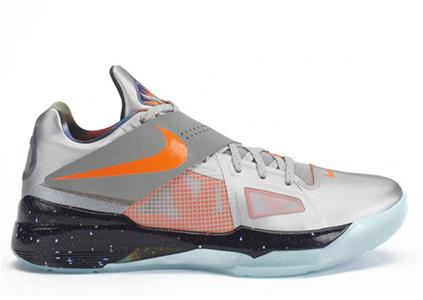 """pretty nice 001a9 8f574 Nike KD 4 """"Galaxy"""""""