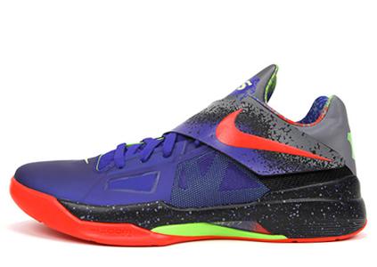 "low priced 767d9 0e9d4 Nike KD 4 ""Nerf"""