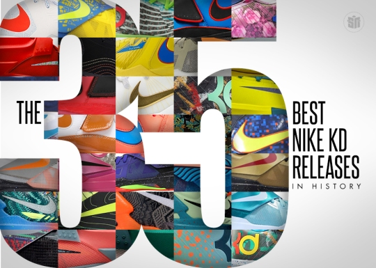 The 35 Best Nike KD Releases In History
