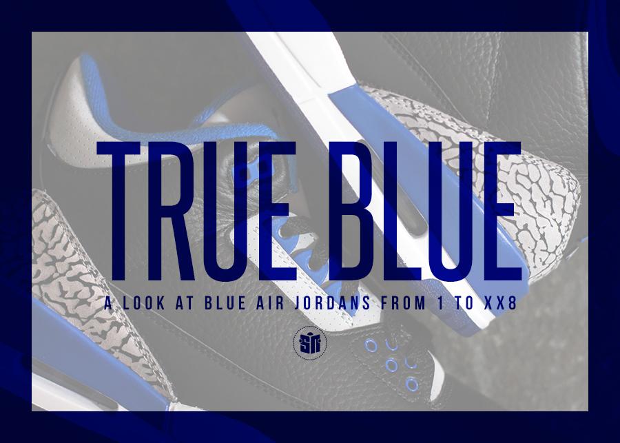 on sale 8bdc6 b999d Blue Air Jordans
