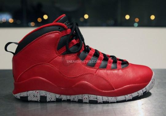"""Air Jordan 10 """"Bulls Over Broadway"""""""