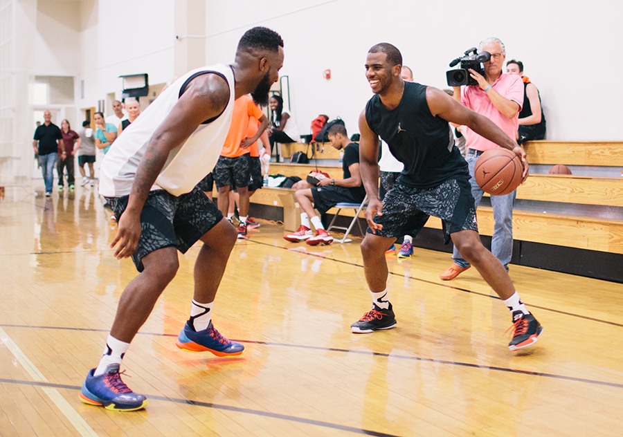new style b942c 9101a Chris Paul Tests Out The Jordan CP3.VIII ...