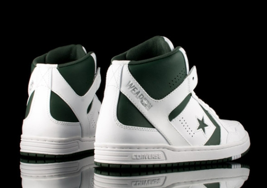 Converse Weapon Mid – White – Green