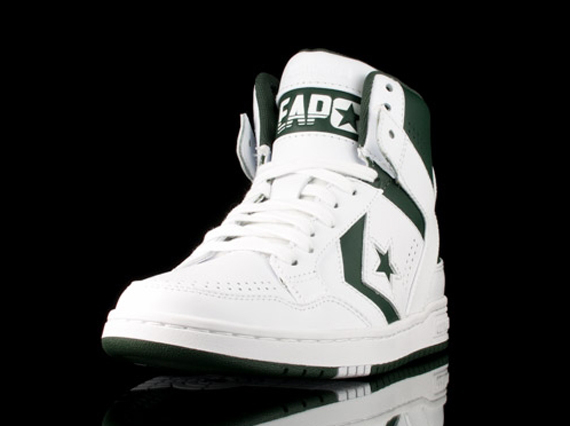 Converse Weapon Mid White Green Sneakernews Com