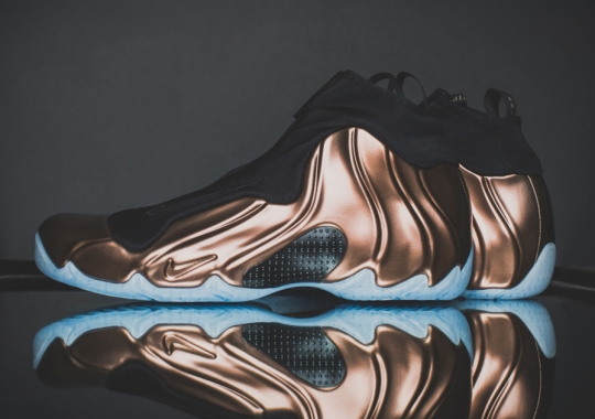 "A Detailed Look at the Nike Air Flightposite PRM ""Copper"""