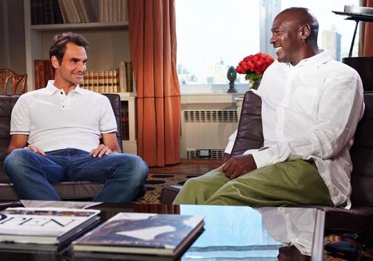 Michael Jordan and Roger Federer Come Together For This Nike Tennis Teaser