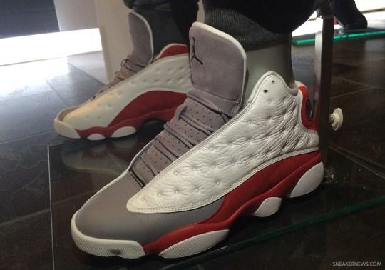 """Air Jordan 13 """"Grey Toe"""" Releasing In November"""