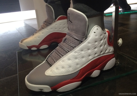 "Air Jordan 13 ""Grey Toe"" Releasing In November"
