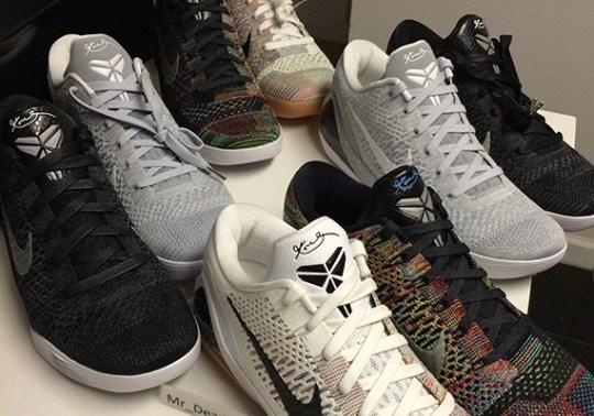 Nike Kobe 9 Elite Low HTM – Full Set on eBay