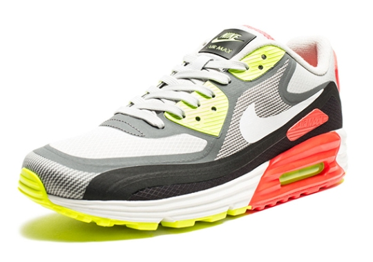 "Nike Air Max Lunar90 WR ""Infrared Volt"" – Available"