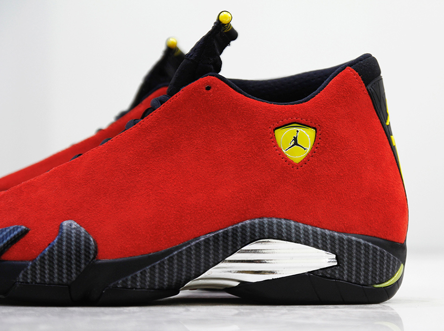 e54dae57f370 Bringing The Ferrari To Life With The Air Jordan 14 - SneakerNews.com
