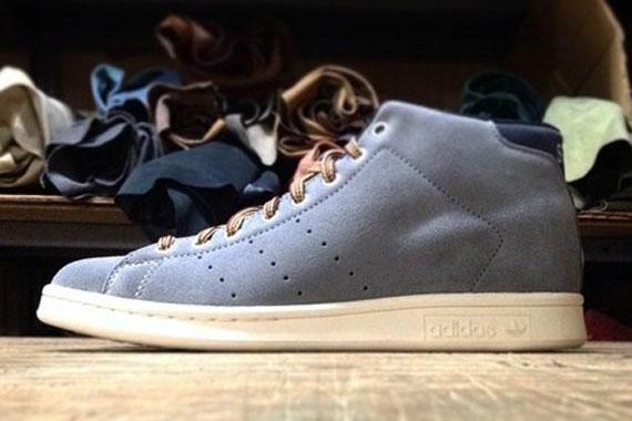 adidas Originals x Mark McNairy 84 Lab Stan Smith Mid Grey