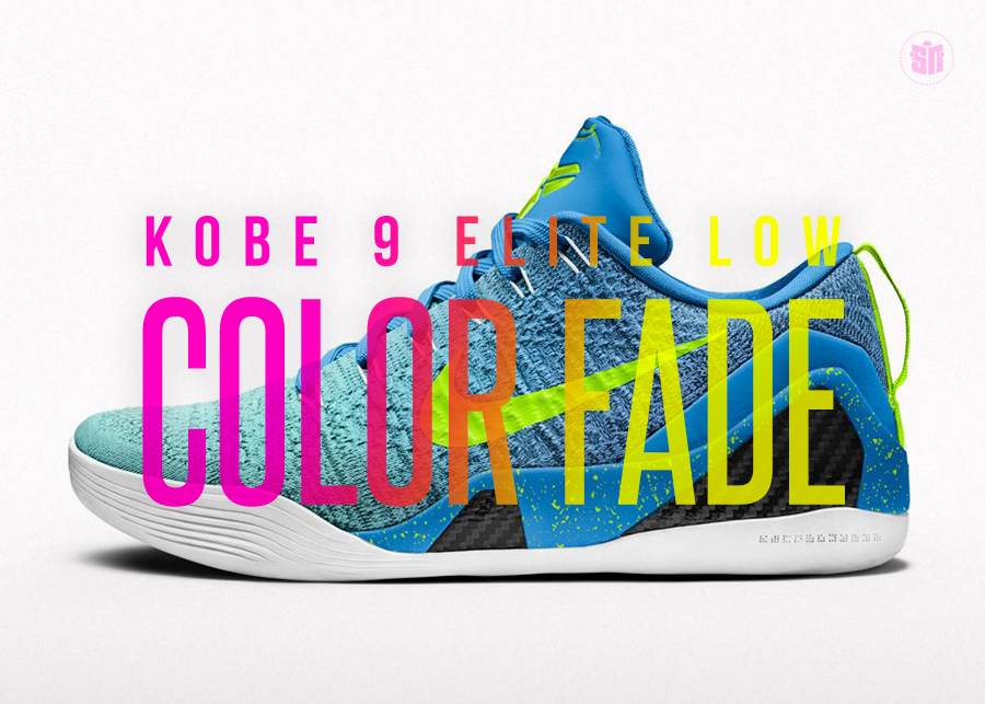 "05e8d46bd861 Kobe s Fadeaway  9 Concepts for the NIKEiD Kobe 9 Elite Low ""Color Fade"""