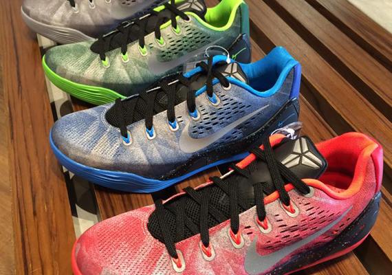 3931af1842b Three Nike Kobe 9 EM Premium Releases For September 5th outlet ...
