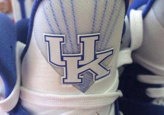 """Nike LeBron 9 """"Kentucky Wildcats"""" PE on eBay"""