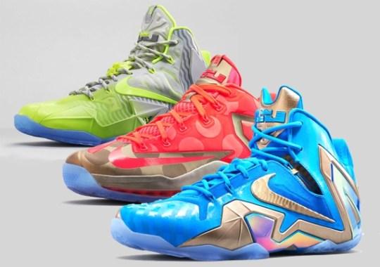 "Nike LeBron 11 ""Maison du LeBron"" Collection – Release Reminder"