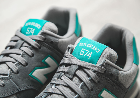 detailed look c20dd d4568 New Balance 574