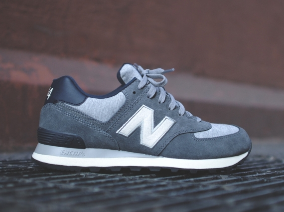 new balance 574 dark gray
