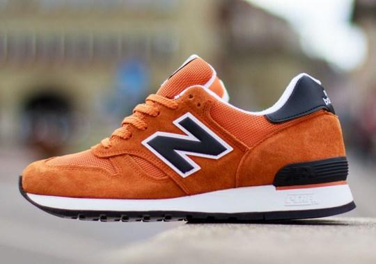 New Balance 670 – Orange – Black