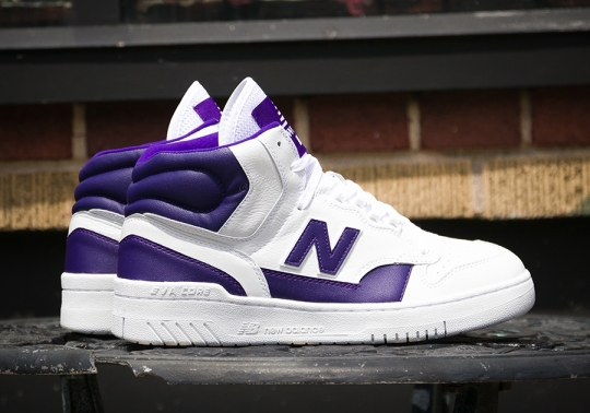 """Packer Shoes Brings Back a New Balance P740 """"Lakers"""" Unreleased PE"""