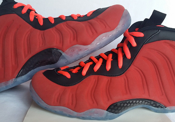"""best wholesaler 0f32e 03eb4 Nike Air Foamposite One """"Red Suede"""" Sample on eBay"""