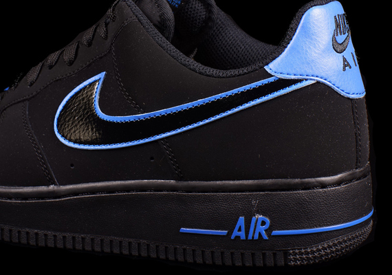 Nike Air Force Black And Blue